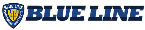 Blue Line Psychological Services Logo