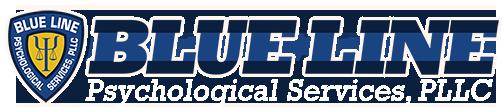 Blue Line Psychological Services Logo